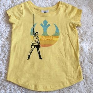 110 Hanna Andersson Star Wars shirt